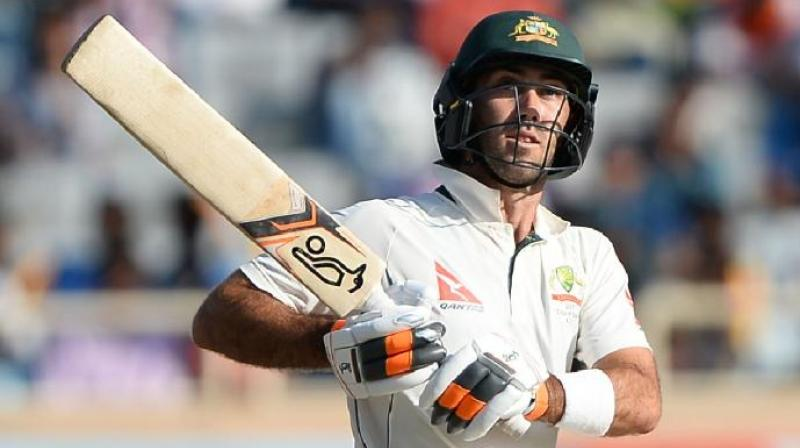 Maxwell was omitted from the 13-man Ashes squad named last week, with batsman Shaun Marsh named as a controversial replacement given his modest test record. (Photo: AFP)