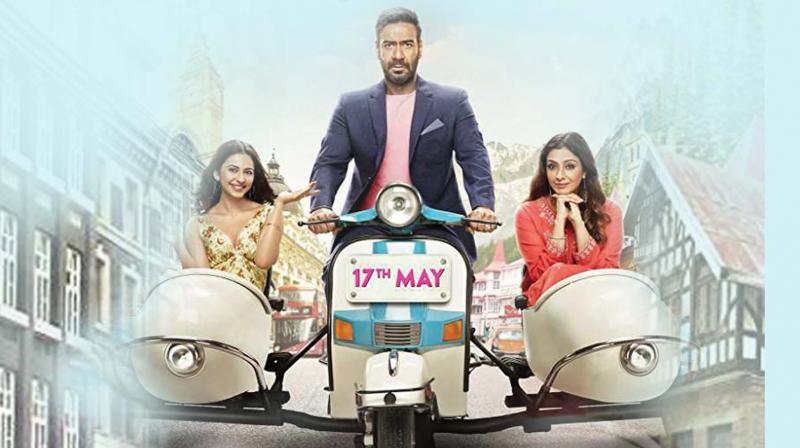 De De Pyaar De movie review: A wife's heartbreak, but Tabu owns it