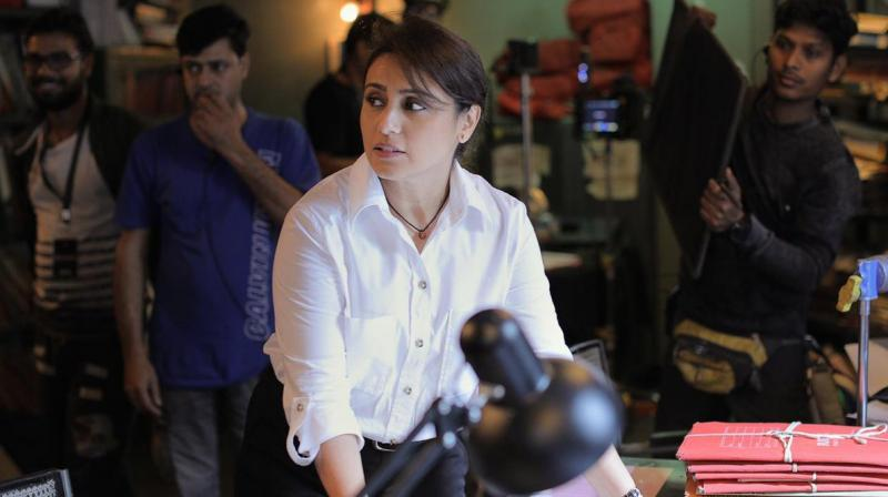 Rani Mukerji starrer Mardaani 2 first look. (Photo: Twitter)