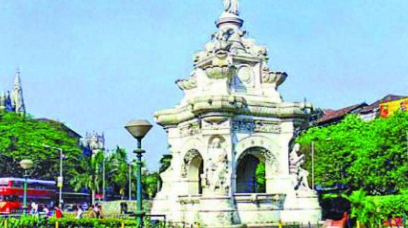 The 150-year-old fountain has been non-functional for the past couple of years.
