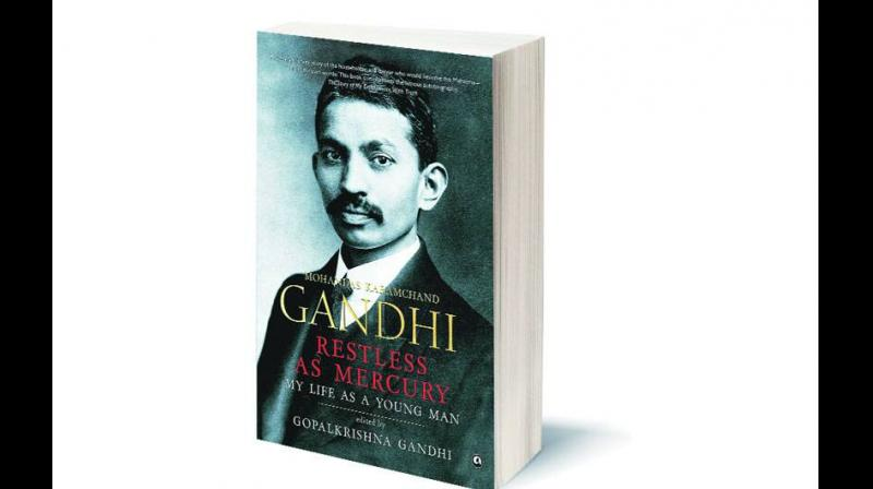 Gandhi might have thought it was the universe whose position needed slight adjustment. (Image by arrangement)