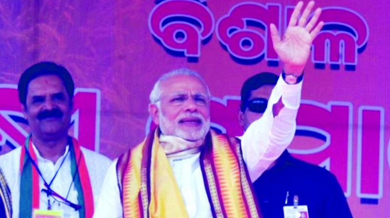 Prime Minister Narendra Modi and BJP president Amit Shah have teamed up to dislodge 'invincible' BJD head and chief minister Naveen Patnaik.
