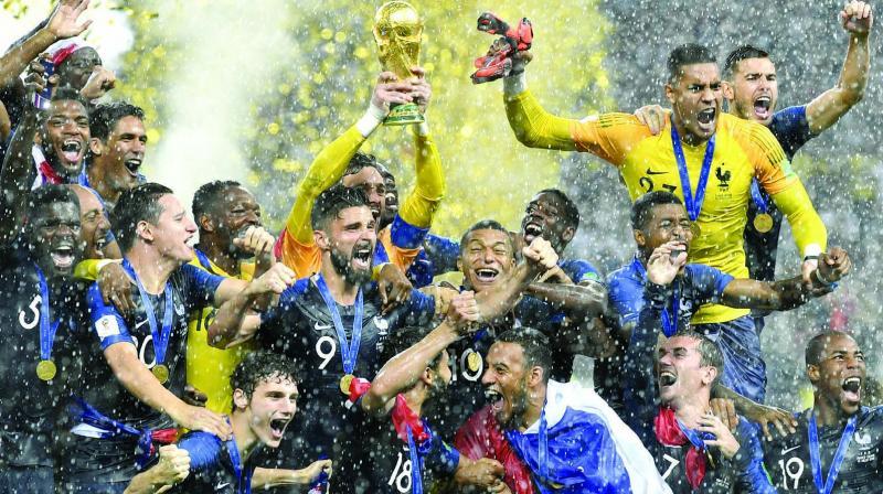 6e52844a5 FIFA World Cup final  France beat Croatia