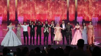 Celebrities at IIFA 2018 awards. (Photo: Twitter/IIFA Awards)