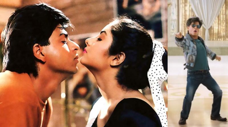 A still from Shah Rukh Khan-Divya Bharti starrer 'Deewana' and 'Zero'.