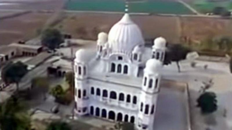 Kartarpur Sahib in Pakistan is located across the river Ravi, about four kilometres from the Dera Baba Nanak shrine in Punjab's Gurdaspur district. (Photo: Youtube | Screengrab)