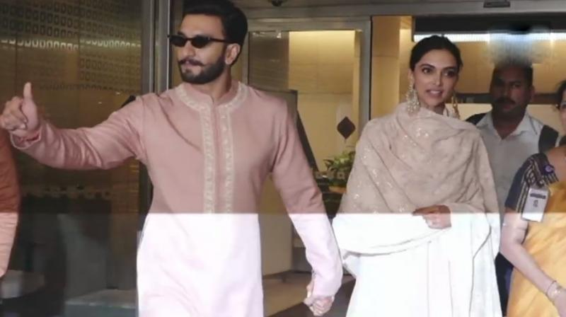 The couple are now gearing up to host receptions in Mumbai. (Photo: Twitter | ANI)