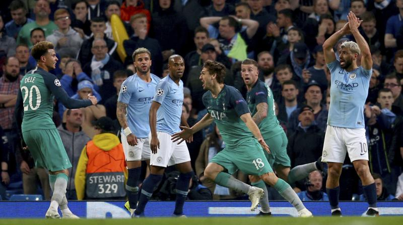 Spurs, who won the first leg 1-0 and progressed after the tie finished 4-4 on aggregate, will play Ajax Amsterdam for a place in the final against Liverpool or Barcelona. (Photo: AP)