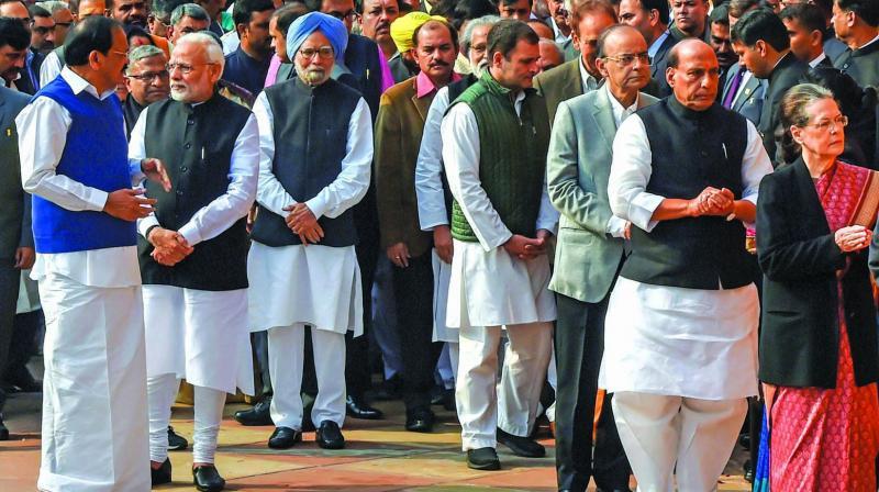 PM Modi, Rahul Gandhi exchange no greetings
