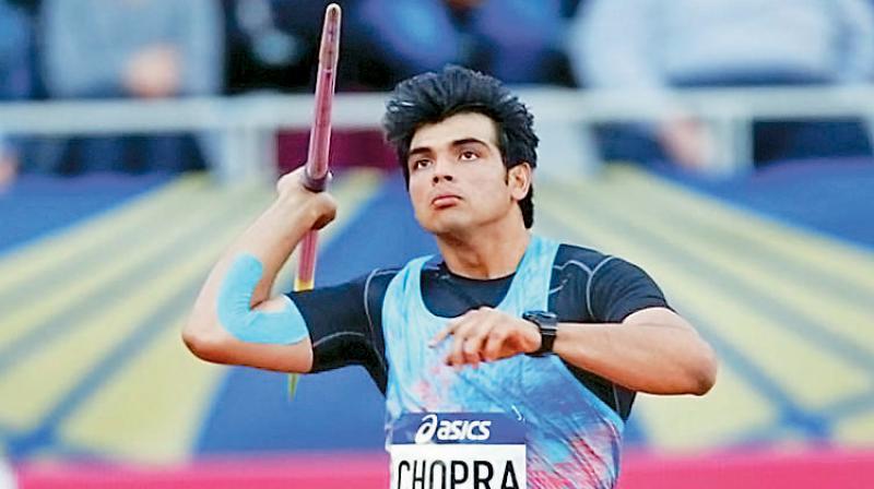 Javelin thrower Neeraj Chopra who qualified for Tokyo Olympics. (DC File Photo)