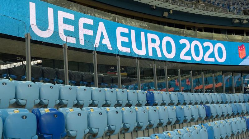 A view of a stand of the Saint Petersburg Stadium which will host some matches of the EURO 2020. AFP Photo