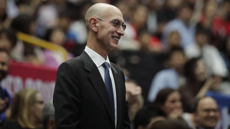 NBA Commissioner Adam Silver. AP Photo