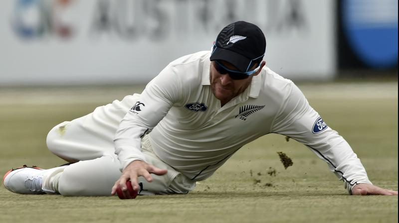 Former New Zealand cricket captain Brendon McCullum. AFP Photo