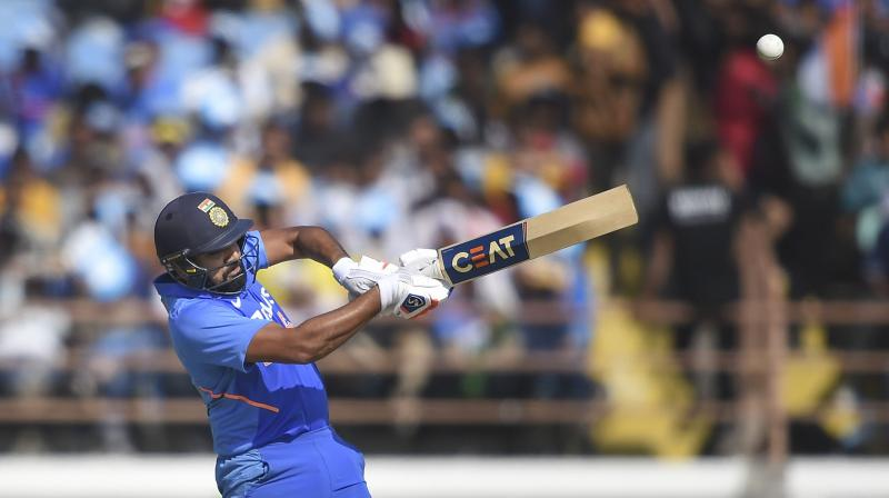 Rohit Sharma, best pull shot player in contemporary cricket? PTI Photo