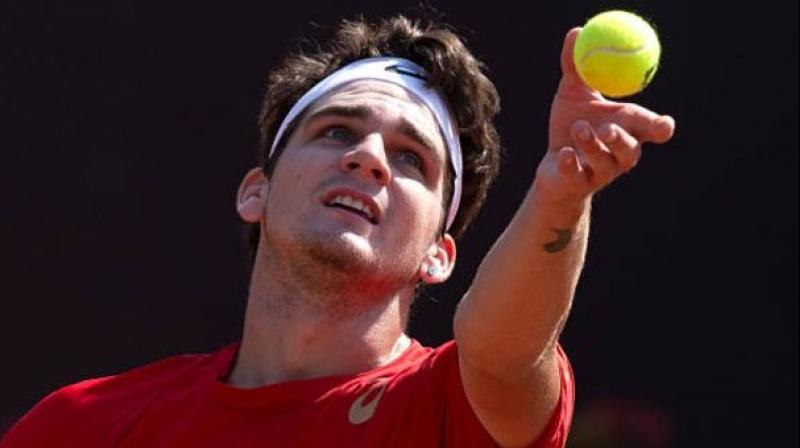Thiago Seyboth who erased the record of Gustavo Kuerton as the youngest Brazilian to an ATP Tour title. Tennis.com Photo
