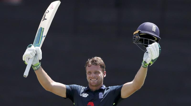 England's Jos Buttler. AP Photo