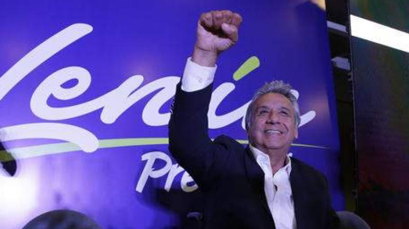 President Lenin Moreno met with Jaime Vargas, the head of the indigenous umbrella grouping CONAIE, for four hours of talks in the capital Quito broadcast live on state television. (Photo: File)