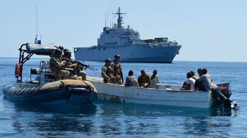 Last month, Somali pirates hijacked an oil tanker, the first commandeering of a vessel since 2012 (Photo: Agencies))