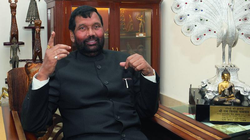 Ram Vilas Paswan (Photo: G N Jha)
