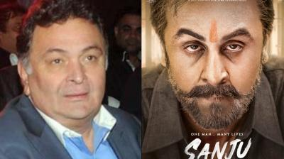 Rishi Kapoor was among the first few to watch the trailer of 'Sanju.'