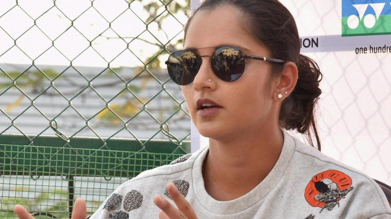 Sania Mirza lost in the mixed doubles final at the Australian Open. (Photo: PTI)