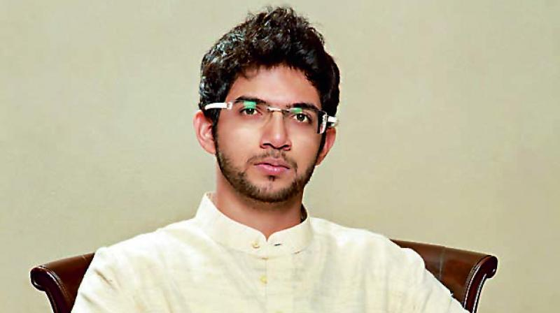 According to the invitation card, Aaditya Thacekray would join lyricist Javed Akhtar, activist Umar Khalid, Rama Naga, Rohit Pawar and others at the event in Mumbai. (Photo: File)