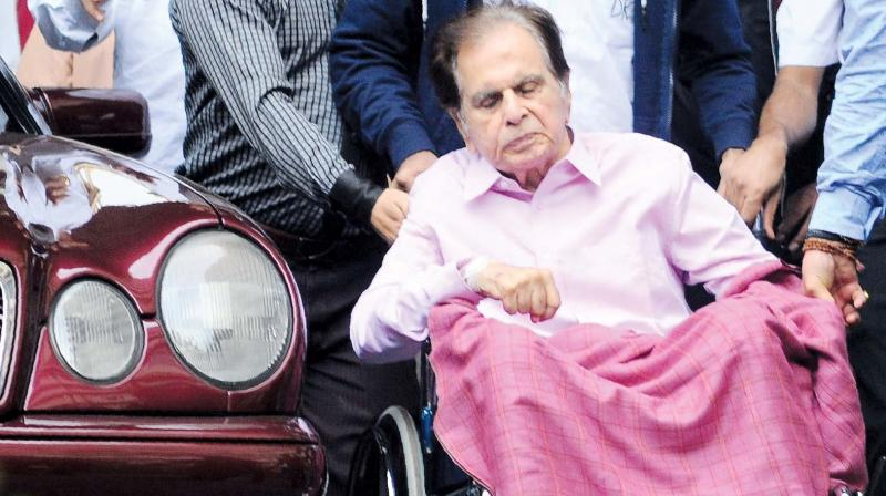 Legendary actor Dilip Kumar's health has been a cause of concern for a while now.