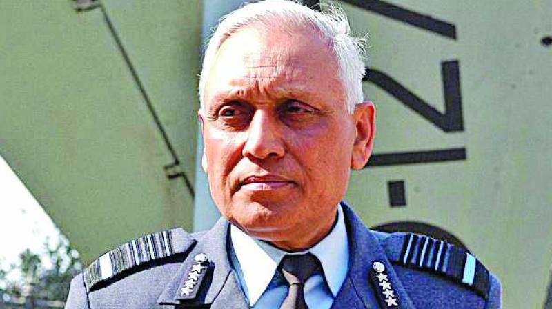 Former Air Force Chief S.P. Tyagi