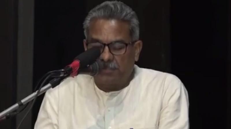 RSS joint general secretary Krishna Gopal (Photo: Youtube/Screengrab)