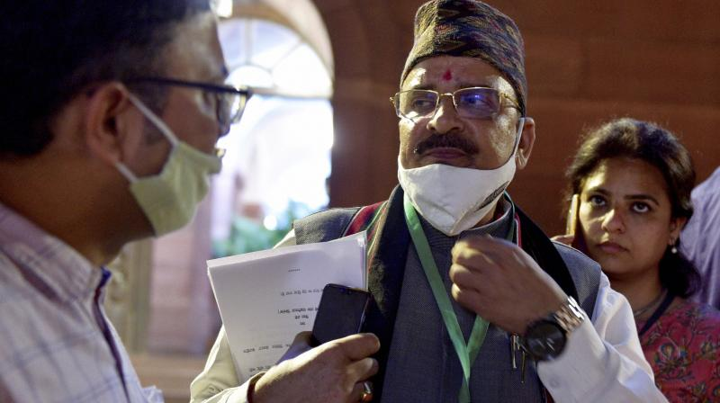 Minister of state for defence Ajay Bhatt. (Photo: PTI)