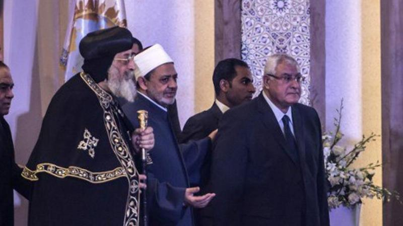 The conference, hosted by the prestigious Sunni Muslim Al-Azhar institute, comes as sectarian conflict continues to ravage the region and after a spate of jihadist attacks on Christians in Egypt. (Photo: AFP)