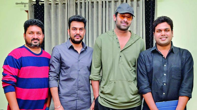 National actor Prabhas is supporting a small film titled 22, directed by debutant B. Shiva Kumar.