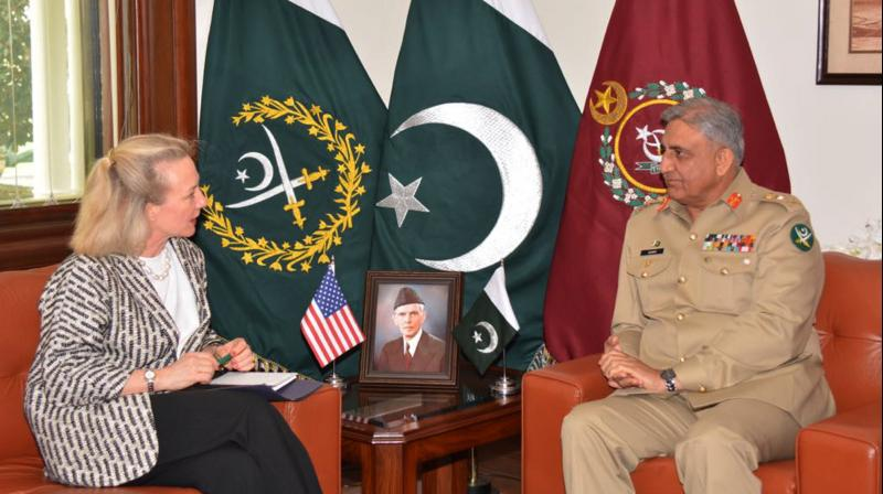 Ambassador Wells' visit focused on the role that Pakistan can play in achieving a peaceful resolution to the conflict in Afghanistan. (Photo: AP)