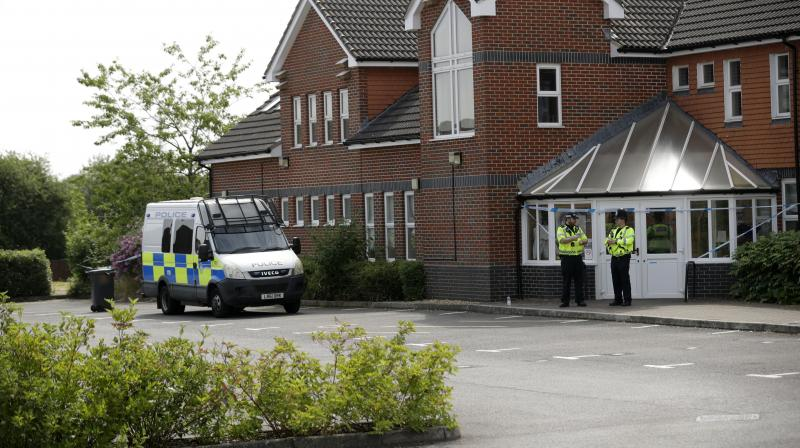 Police in Wiltshire, where ex-double agent Sergei Skripal and his daughter Yulia were poisoned with a nerve agent in March, took the rare step of declaring a major incident after a man and a woman were found unconscious on Saturday in Amesbury. (Photo: AP)