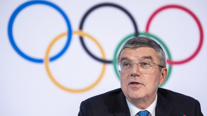 International Olympic Committee president Thomas Bach of Germany. AP Photo