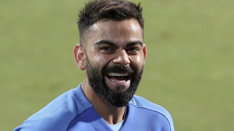 Virat Kohli. AP Photo