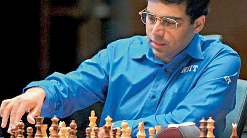 Chess maestro Viswanathan Anand. DC Photo