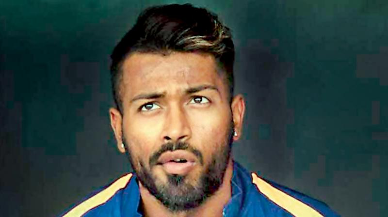 Hardik Pandya on a comeback trail. DC Photo