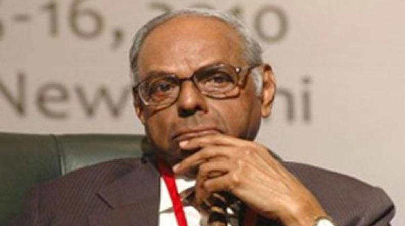Former Reserve Bank of India Governor C Rangarajan