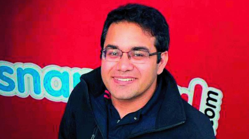 Snapdeal co-founder and CEO Kunal Bahl.