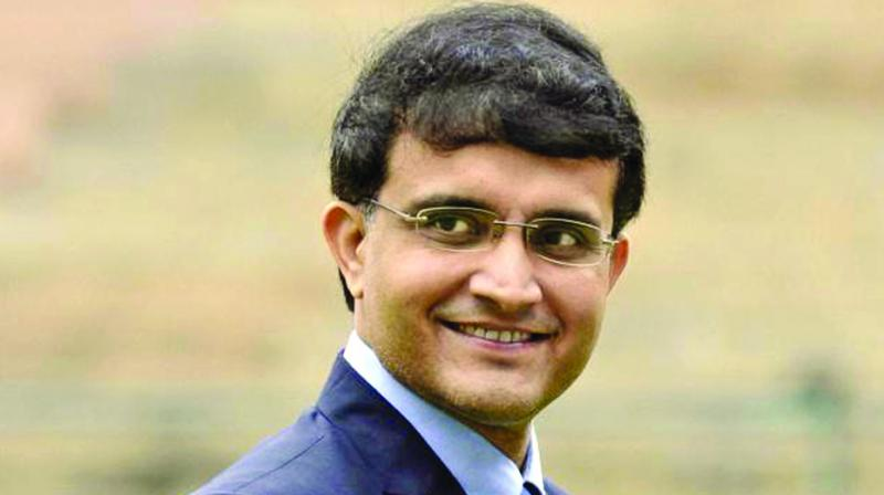 Sourav Ganguly said that playing his first Test for India was much tougher than the BCCI President post. (Photo: File)