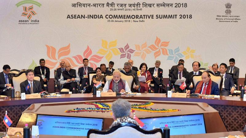 One individual from each ASEAN country chosen for Padma Shri, India's fourth highest civilian award, in a move to enhance ties with the 10-member bloc. (Photo: PTI)