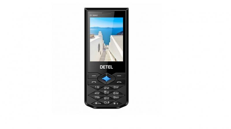 Detel's D1 Guru and Champ comes with 1.8-inch LCD display, while Detel D1 Star and Max (pictured) come with 2.4-inch and 2.8-inch LCD Display, respectively.