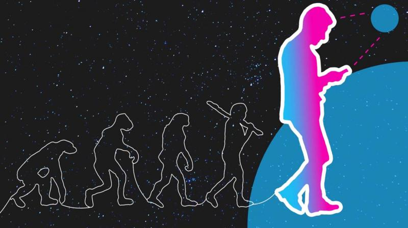 In a 'mobile first' world sociologists say we are turning into a new species that they call phono sapiens.
