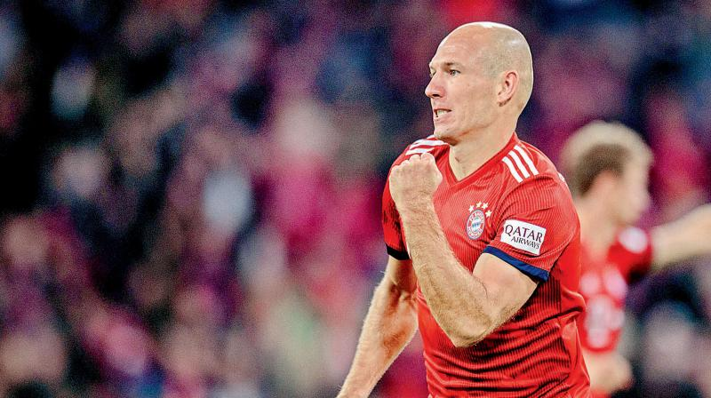 Robben picked 96 caps for the Netherlands and also played in the 2010 World Cup final. (Photo: AFP)