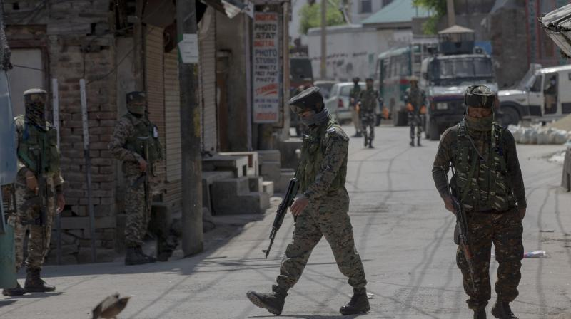 The police sources said that one of the jawans was killed on the spot and the other died on way to nearby Sher-i-Kashmir Institute of Medical Sciences (SKIMS). Medical Superintendent at SKIMS. AP Photo