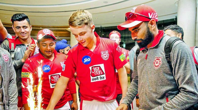 Curran had a lengthy chat with his English teammates and IPL regulars before coming to India, giving him a fair idea on the pressures and expectations involved in the lucrative league. (Photo: Twitter)