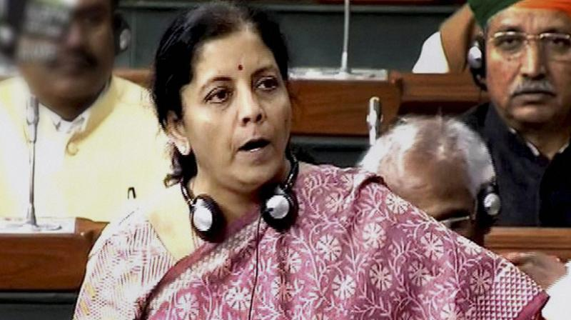 Commerce and Industry Minister Nirmala Sitharaman. (Photo: PTI)