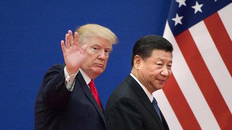 Donald Trump has been talking of 'consequences' if Xi Jinping's government was knowingly responsible for the Covid-19 outbreak. (AFP)
