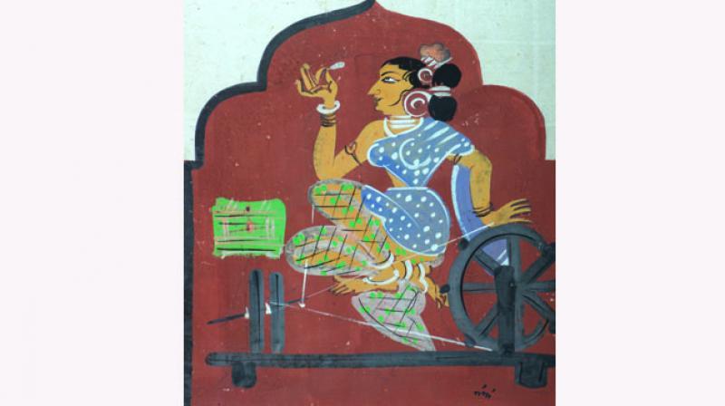 Art works by Nandalal Bose